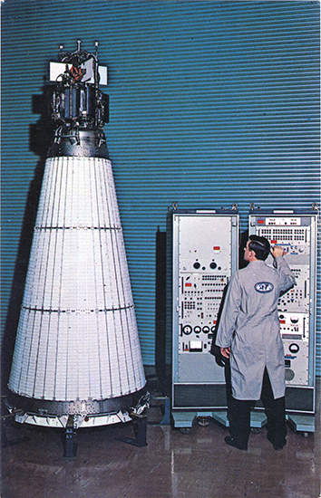 SNAP 10A – Space Nuclear Power Plant.