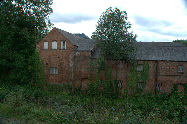 The abandoned brewery. Author:brianfagan.CC BY 2.0