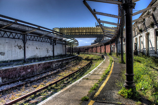 The abandoned station. Author: Toby Charlton-Taylor CC BY-ND 2.0