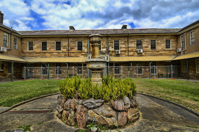 The asylum known as Tarban Creek Lunatic Asylum. Author: Frederick Manning CC BY 2.0