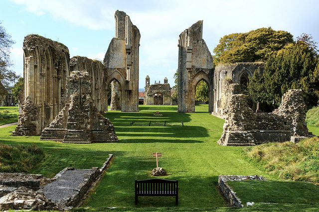 The North transept of the Abbey. Author: Steve Slater. CC BY 2.0