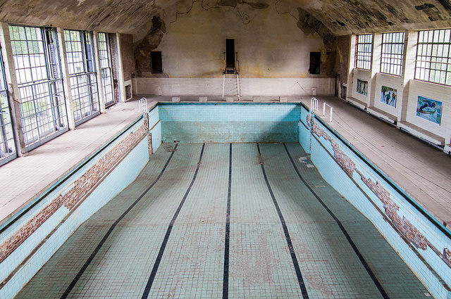 The Olympic pool. Author: Tobias Scheck CC BY 2.0