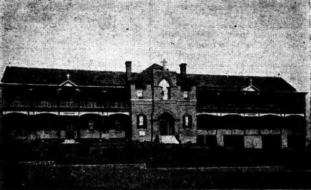 The orphanage in 1919. Author: Unknown Public Domain