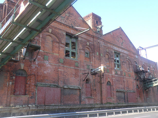 The rear side of the former Ice Factory. Photo Credit