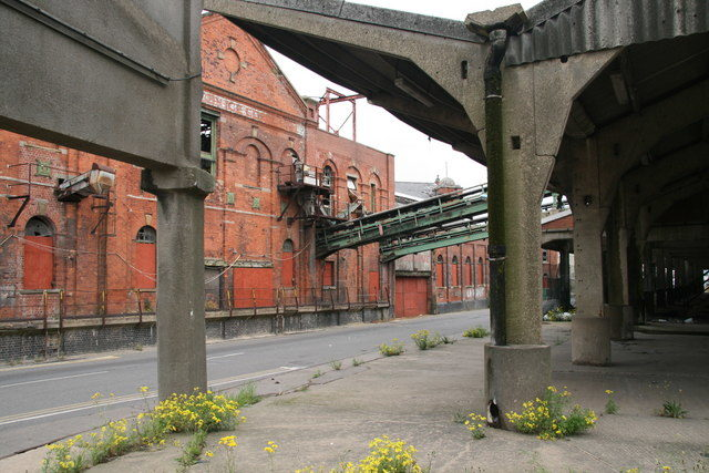 The rear of the former Ice Factory. Photo Credit