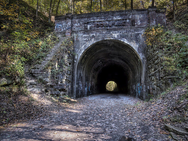 The tunnel in 2015. Author:Mark SpearmanCC BY 2.0