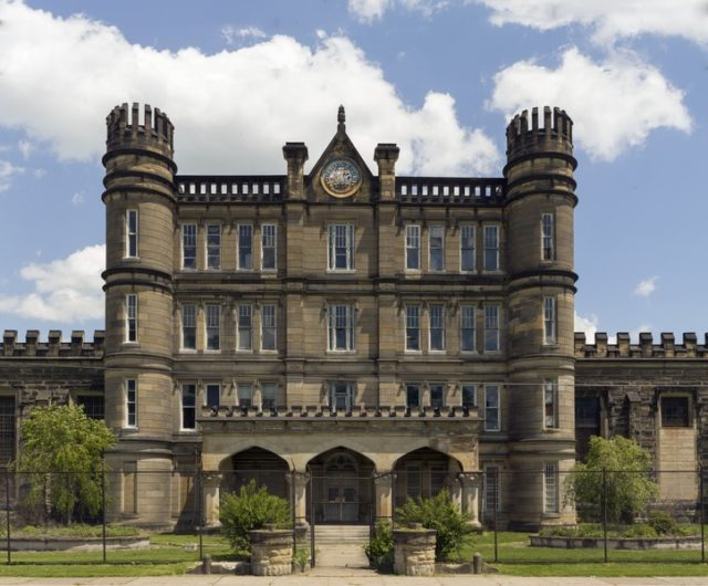 The West Virginia State Penitentiary.