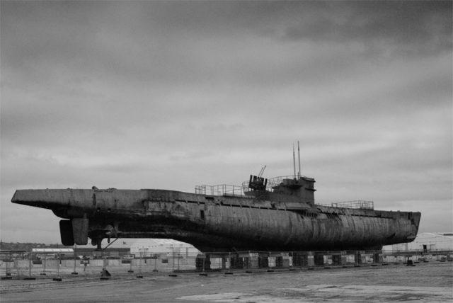 U-534 at Birkenhead Docks in March 2007. Author: Paul adams Public Domain