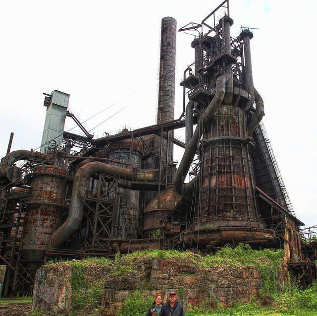 The Carrie Furnace – Author: Forsaken Fotos – CC by 2.0