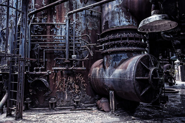 Carrie Furnaces, Pittsburgh – Author: George Corbin – CC by 2.0