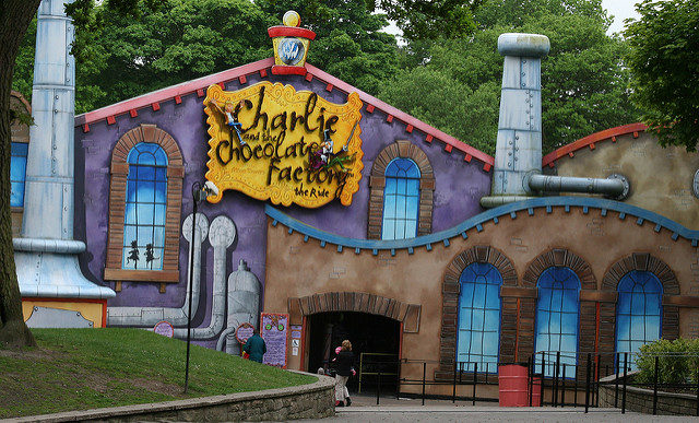 Charlie and the Chocolate Factory – Author: roger blake – CC by 2.0