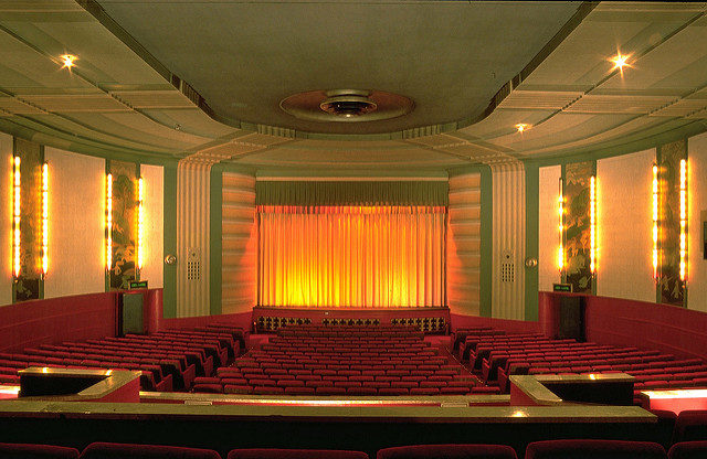 The York Theater cinema hall. Author: Sandra Cohen-Rose. CC BY 2.0