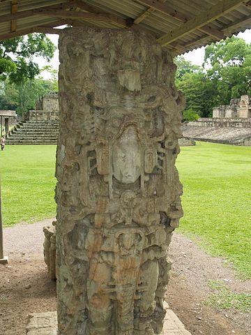 Stela N, depicting K'ak' Yipyaj Chan K'awiil/Author: Adalberto Hernandez Vega – CC BY 2.0
