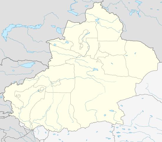 Xinjiang Uyghur Autonomous Region/ Author: NordNordWest – CC BY-SA 3.0 de