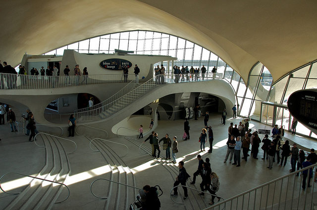 The Famous Twa Flight Center Terminal Of Jfk S Airport