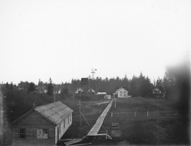 Fort Stevens in 1900