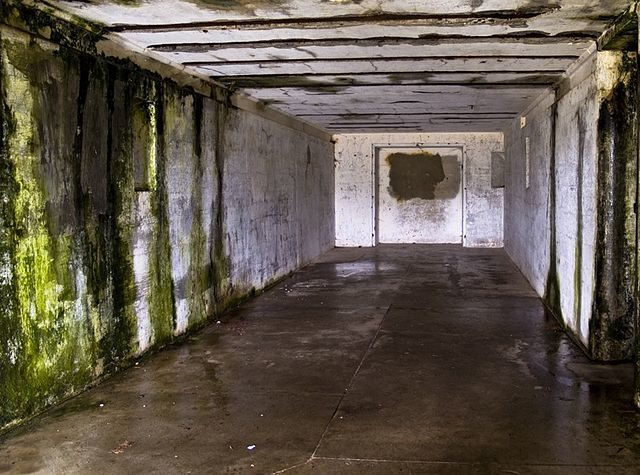 The ruined interior of the abandoned fort/ Author: R. Love – CC BY 2.0