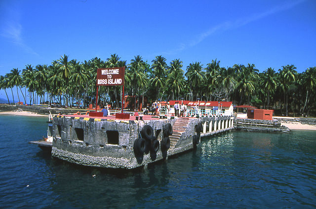 Ross Island in 2004. Author: Kotoviski – CC BY-SA 3.0