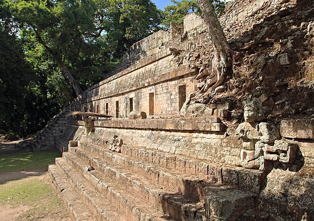 The West Court of Copán