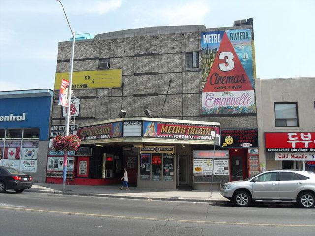 Metro Theatre in 2011. Author: William Mewes. CC BY 2.0