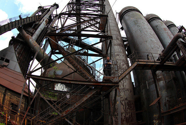 Living history at the Carrie Furnaces, Rankin PA – Author: Roy Luck – CC by 2.0