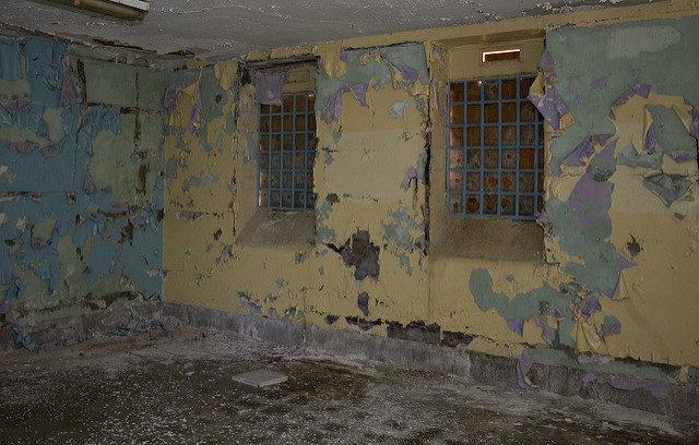 A cage like room. Author: Liza CC BY 2.0