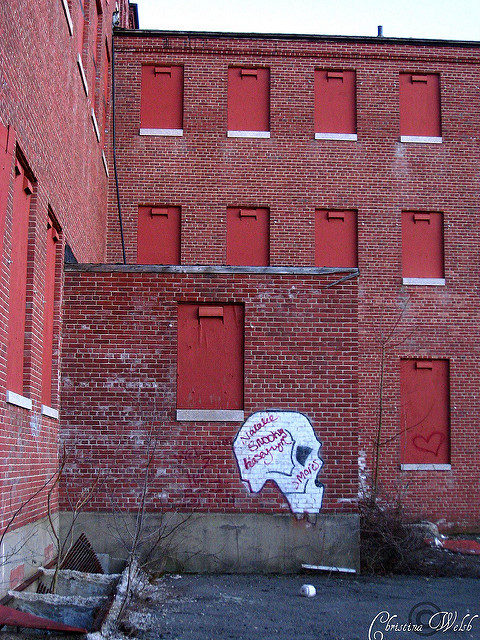 A graffiti on the wall of Gaebler Children's Hospital. Author: Christina Welsh CC BY-ND 2.0