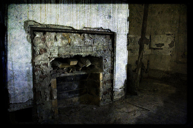 A missing fire place. Author: Kevin CortopassiCC BY-ND 2.0