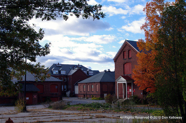 A view of Medfield State Hospital. Author:Don KellowayCC BY-ND 2.0