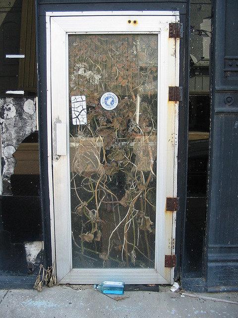Abandoned shop. Author:hickory hardscrabbleCC BY 2.0