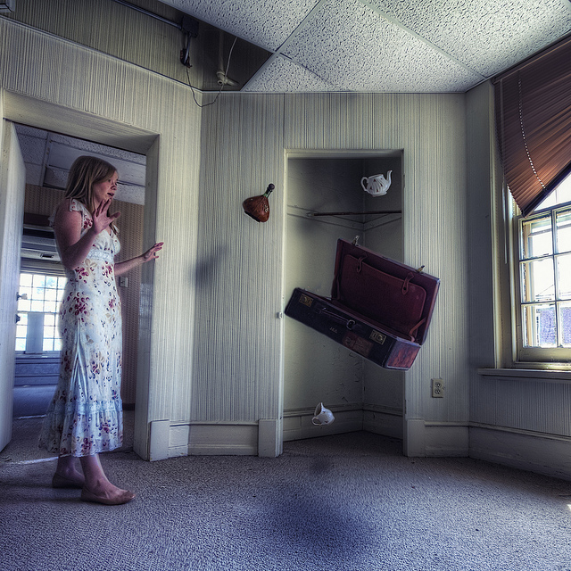 An artist photograph titled Magic at St. Albans Sanatorium. Author:Donnie NunleyCC BY 2.0