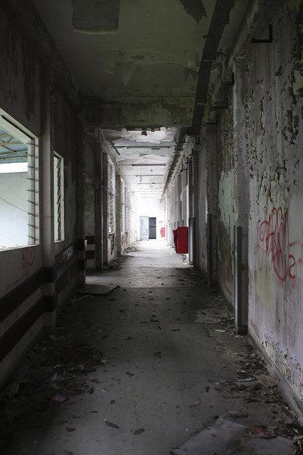 Another creepy hallway.Author:Brian Jeffery BeggerlyCC BY 2.0