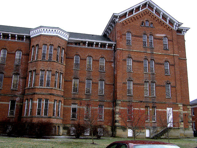 Athens Lunatic Asylum. Author: Mike CC BY-ND 2.0