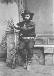 Ed Schieffelin – the man who discovered silver in the Tombstone district in 1877.