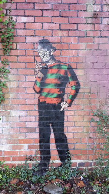Even Freddy Krueger came to visit. Author: Bailey Hurlow CC BY-SA 2.0