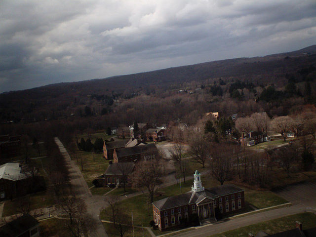 Fairfield State Hospital bird's-eye view. Author: G F CC BY 2.0