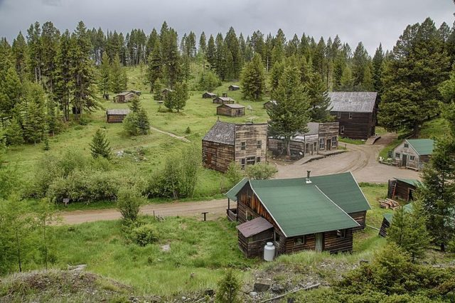 Garnet, Montana. Author: Bureau of Land Management – Garnet Ghost Town, Montana Public Domain