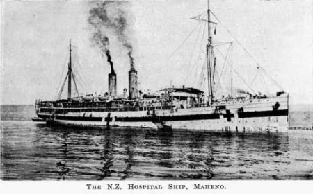 In WWI she served as a hospital ship/ Author: Lt. H. T. B. Drew – CC BY-SA 3.0