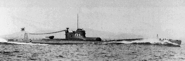 Japanese submarine I-26, sister of the I-25 which attacked Fort Stevens