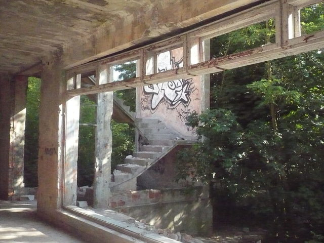 Inside the asylum. Author:HigroskopijnyPublic Domain