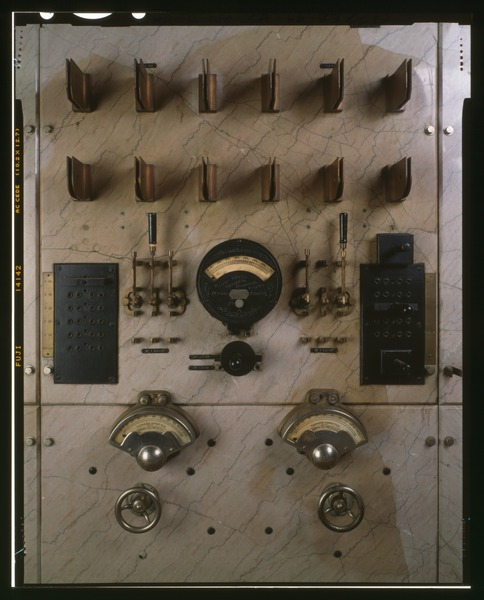 Part of the control panel. Author:Grogan, BrianPublic Domain