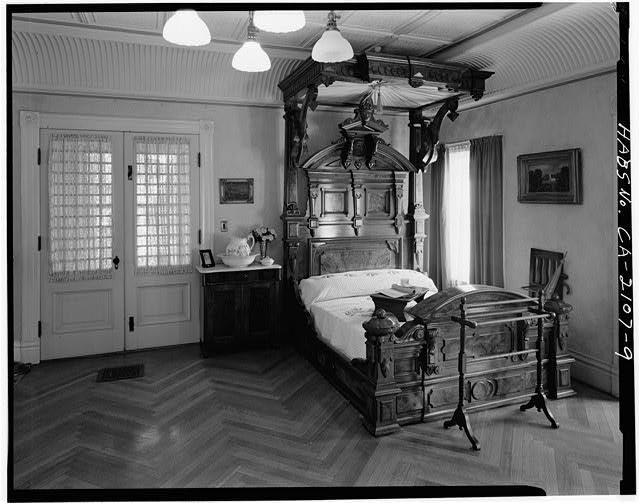 Sarah's bedroom. Author:HABSPublic Domain