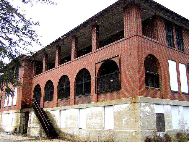 The scary look of the Abandoned Tuberculosis Ward. Author: Mike CC BY-ND 2.0