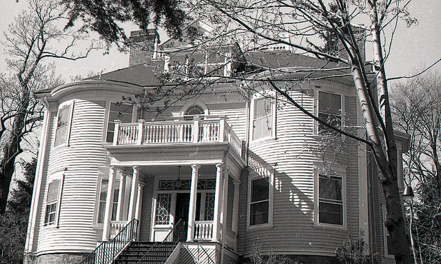 The asylum in 1981. Author:City of Boston ArchivesCC BY-SA 2.0