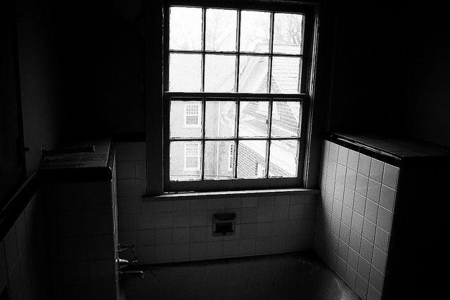 The bathroom window. Author:Dan GroganCC BY 2.0