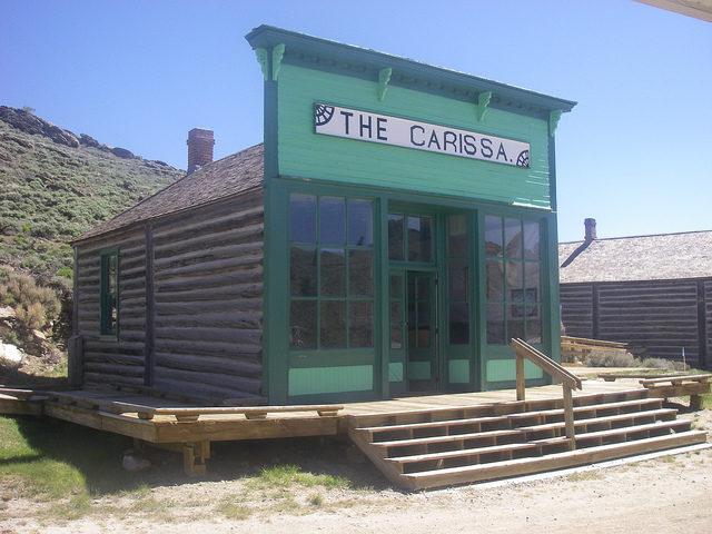 The Carissa Saloon near the mine. Author: Graham Styles. CC BY 2.0