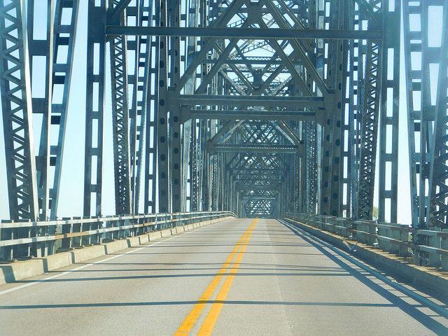 The empty bridge. Author:Adam MossCC BY-SA 2.0