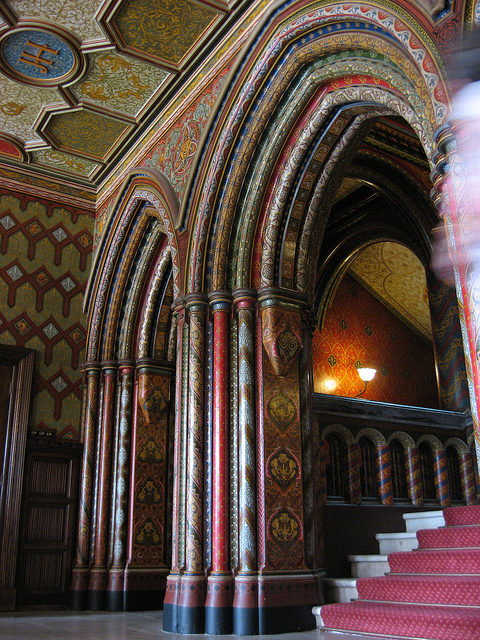 The Entrance hall. Author:tphollandCC BY 2.0