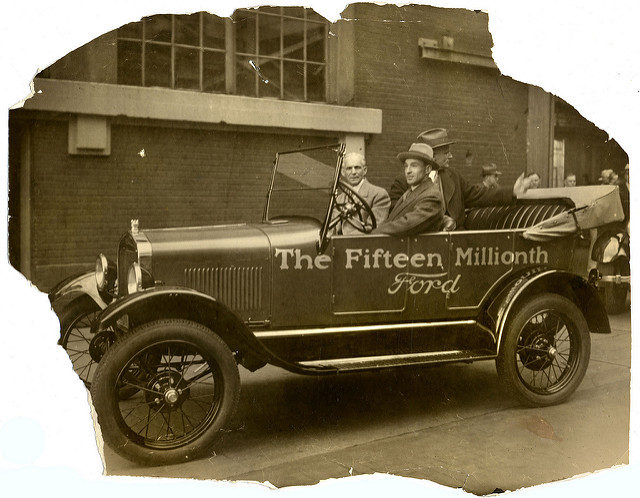 The Fifteen Millionth Ford was produced at this factory. Author:William CreswellCC BY 2.0