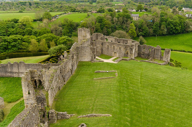 The ruins of Richmond Castle. Author: alh1. CC BY-ND 2.0